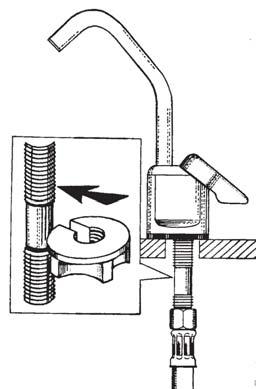 Robinet serrage